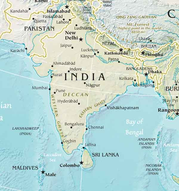 South Asia Cost Of Living April Expatriate International - India maldives map male